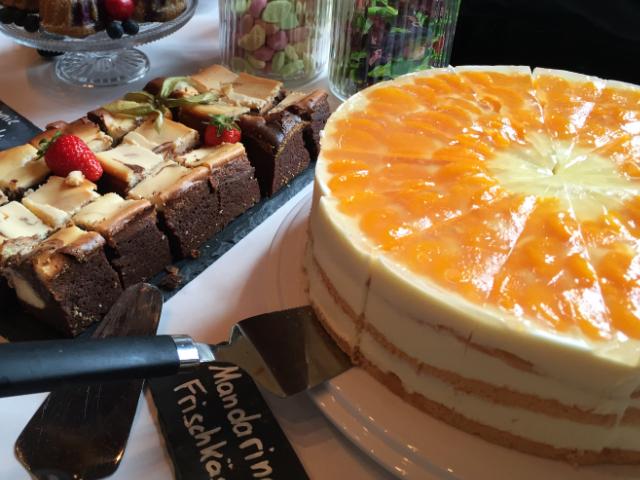 081 Mandarine Frischkäse Torte